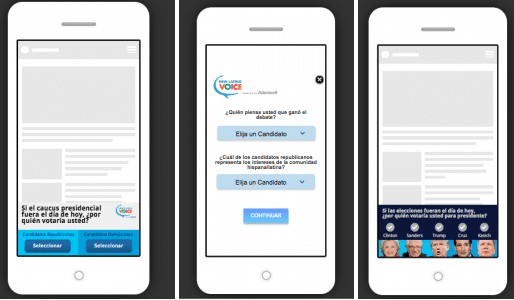 adsmovil mobile advertising voto latino latin vote mobile encuestas tecnologia adsmovil mobile advertising